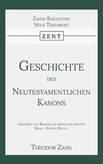 Geschichte des Neutestamentlichen Kanons 4