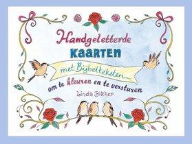 Handgeletterde kaarten met Bijbelteksten