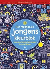 Het megacoole jongens kleurblok
