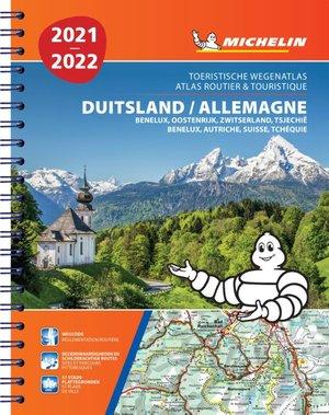 Atlas michelin duitsland, oostenrijk 2021