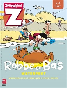 Spelletjes- en oefenboek Zonnekind: Robbe en Bas - Waterpret