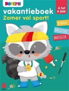Spelletjes- en oefenboek Doremi : Zomer vol sport