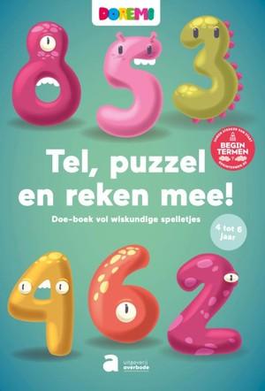 Spelletjes- en oefenboek Doremi : Tel, puzzel en reken je mee