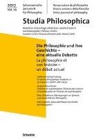 Die Philosophie und ihre Geschichte - eine aktuelle Debatte La philosophie et son histoire - un débat actuel