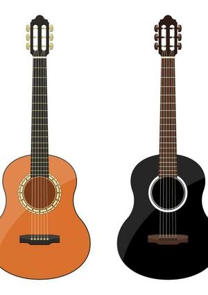 Gitaarakkoorden- Gitaartabs Notenschrift- Bladmuziek (A5) Guitar row - Allets Comfort