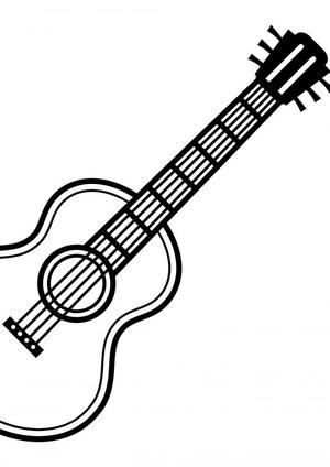 Gitaarakkoorden- Gitaartabs Notenschrift- Bladmuziek (A4) Solo Guitar ZW- Allets Comfort