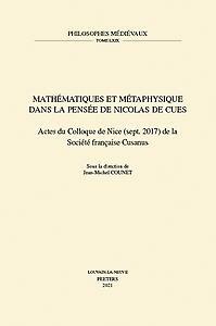 Mathématiques et Métaphysique dans la pensée de Nicolas de Cues