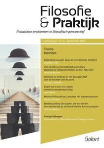Identiteit - Themanummer Filosofie & praktijk 41/3  (2020)