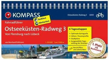 FF6003 Ostseeküstenradweg 3, von Flensburg nach Lübeck  Kompass