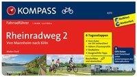 FF6272 Rheinradweg 2, Manheim bis Köln Kompass