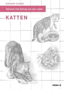 Tekenen met behulp van een raster - Katten