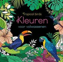 Kleuren voor volwassenen - Tropical birds