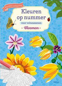 Kleuren op nummer voor volwassenen Bloemen