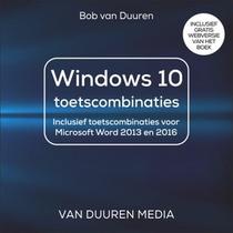 Windows 10 toetsenbordcombinaties