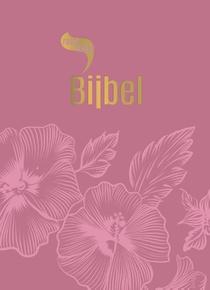 Roodletterbijbel - design bloemen