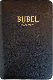 Bijbel (SV) met psalmen (niet-ritmisch) - met goudsnee, rits en duimgrepen