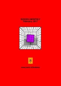 Sudoku monthly February 2017