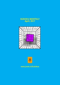 Sudoku Monthly april 2017