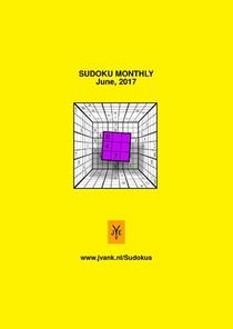Sudoku monthly June 2017