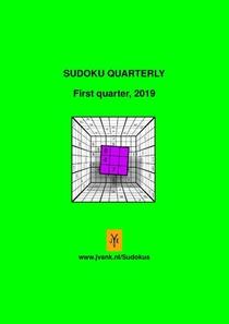 Sudoku quarterly first quarter, 2019