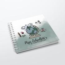 Het Schoolfoto Invulboek - Oud Groen