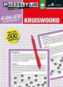 Kanjer Kruiswoord nummer 4