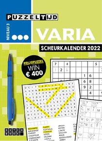Puzzeltijd Varia Scheurkalender 2022