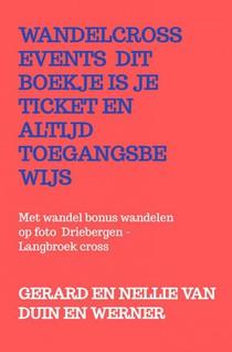 Wandelcross events dit boekje is je ticket en altijd toegangsbewijs