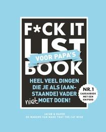 F*ck it list Book voor papa's