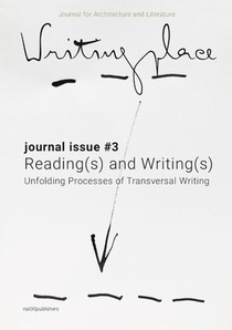 Writingplace journal for Architecture and Literature 3
