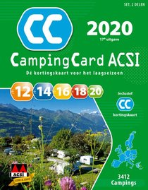 CampingCard ACSI 2020 Nederlandstalig - set 2 delen