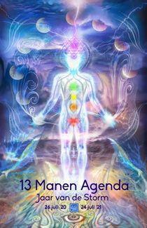 13 manen agenda van de natuurlijke tijd