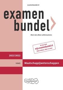 Examenbundel vwo Maatschappijwetenschappen 2021/2022