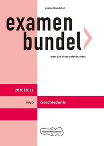 Examenbundel vwo Geschiedenis 2020/2021