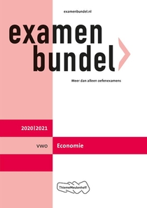 Examenbundel vwo Economie 2020/2021