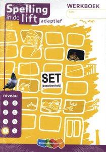 Spelling in de lift adaptief - werkboekjes niveau 1 (set van 5)