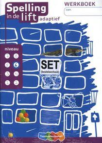 Spelling in de lift adaptief (set van 5) Werkboek niveau 6
