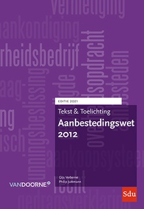 Aanbestedingswet 2012 2021