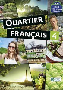 Quartier français 4 Livre de l'élève (inclusief Le mag' en Pelckmans Portaal)