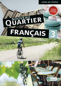 Nouveau Quartier français 3 Livre de l'élève (incl. Le mag', Pelckmans Portaal)