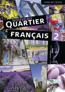 Nouveau Quartier français 2 Livre de l'élève (incl. Le mag' en Pelckmans Portaal)