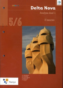 Delta Nova 5/6 Analyse deel 1 Leerwerkboek (3u) (incl. Scoodle)