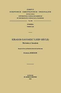Kirakos Ganjakecʿi (XIIIe siècle). Histoire d'Arménie