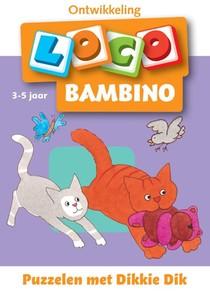 Loco bambino, puzzelen met Dikkie Dik 3-5 jaar