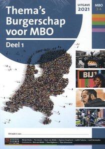 Thema's Burgerschap voor MBO 3 set Werkboek deel 1 mbo 3-4 2021