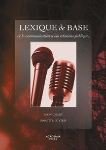 Lexique de base de la communication et des relations publiques - Nieuwe editie