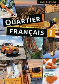 Nouveau Quartier français 1 livre de l'élève (incl. le mag' en Pelckmans Portaal) (editie 2020)