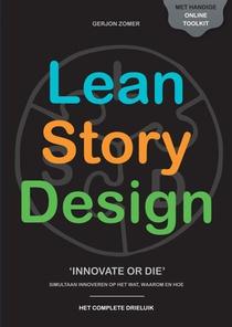 Lean Story Design drieluik (zwart-wit)
