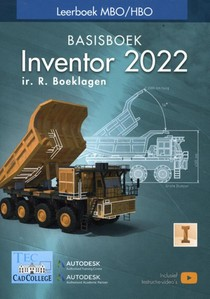 Inventor 2022 Basisboek MBO/HBO