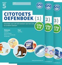 Citotoets Oefenboeken deel 1, 2 en 3 groep 5